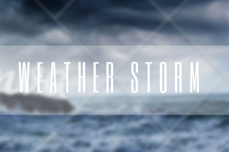 Blank Page has dropped his acoustic take on Massive Attack's hit 'Weather Storm'