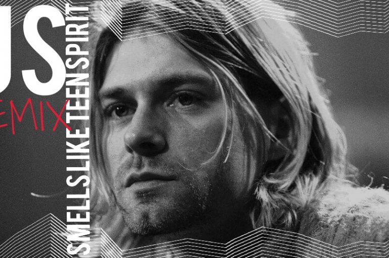 US's Kurt Cobain dedicated 'Smells Like Teen Spirit' is out now
