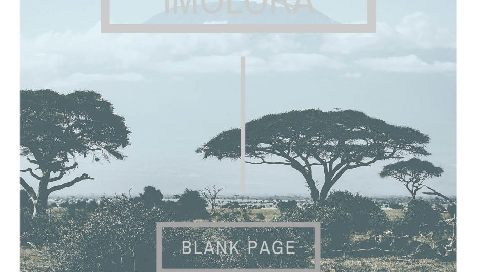 Check out Blank Page's 'Imolora'
